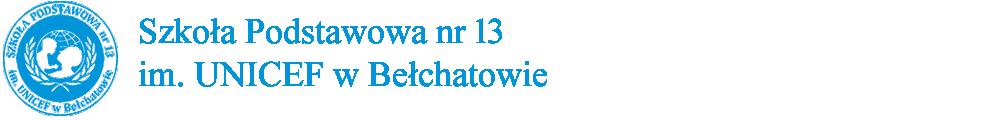 Publiczna Szkoła Podstawowa nr 13 w Bełchatowie